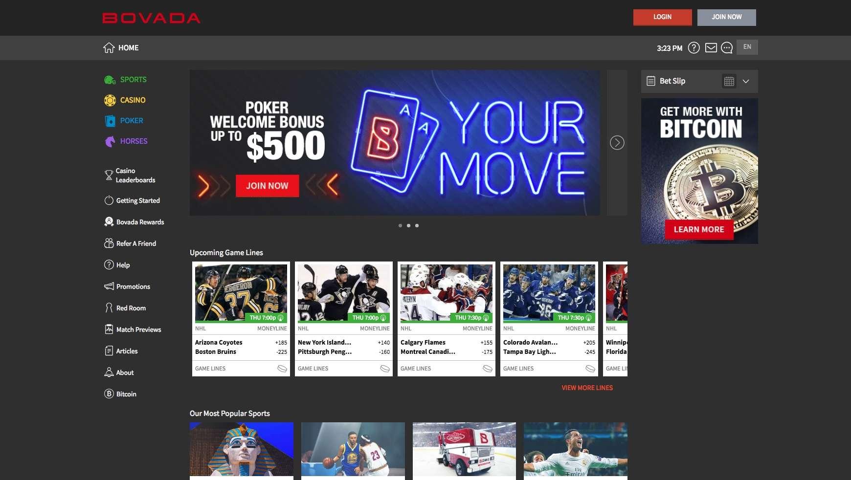 Bovada Casino Bonus Free Spins July 2020