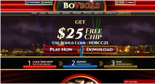 Bovegas Casino Bonus Free Spins July 2020
