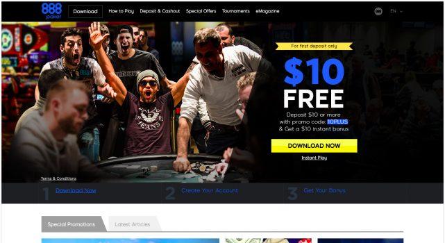 888poker Casino Bonus Free Spins July 2020