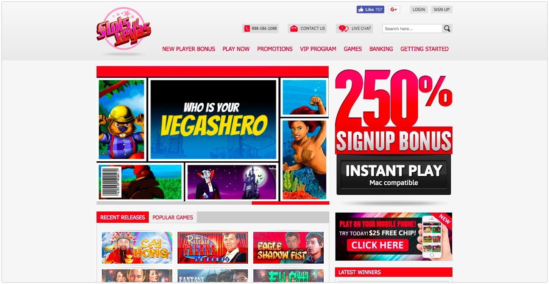 Vegas Online Slots Free Play