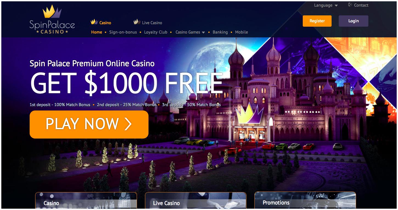 Free spin palace casino