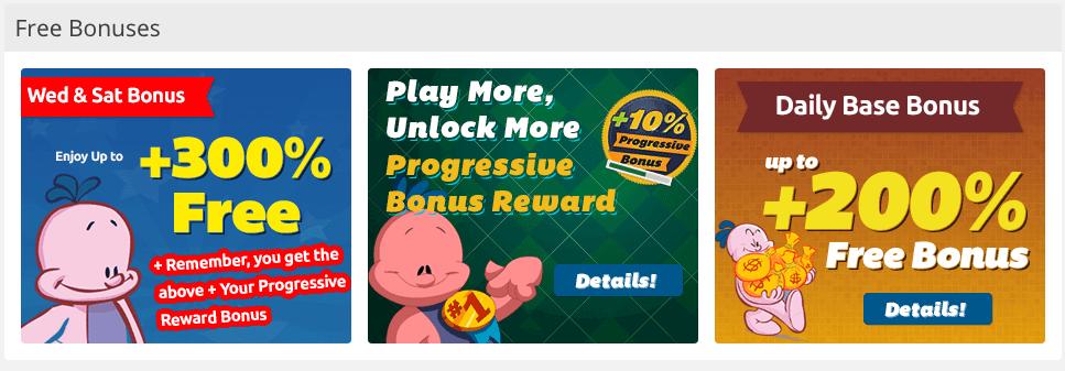 Bingo Mania Casino Bonuses