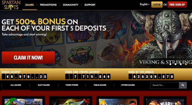 Spartan Slots Casino Bonus Free Spins July 2020