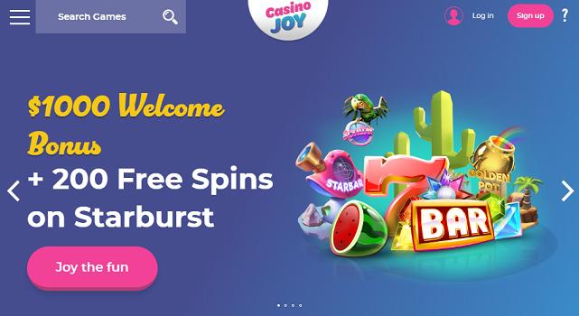 Casino Joy - allcasinoscanada