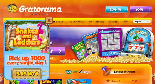 Gratorama Casino - allcasinoscanada