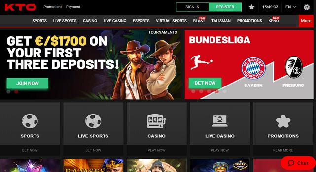 Kto Casino Site