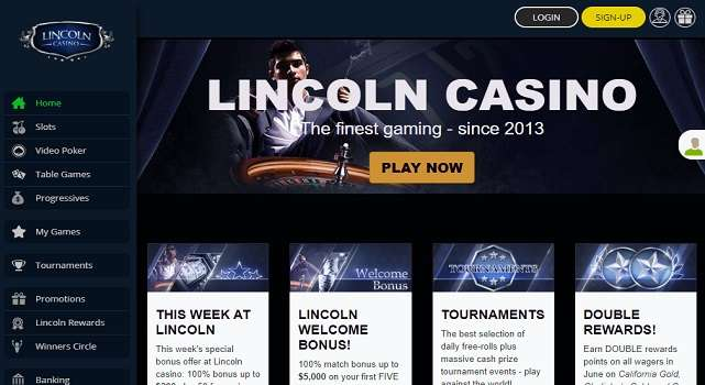 Lincoln Casino Online