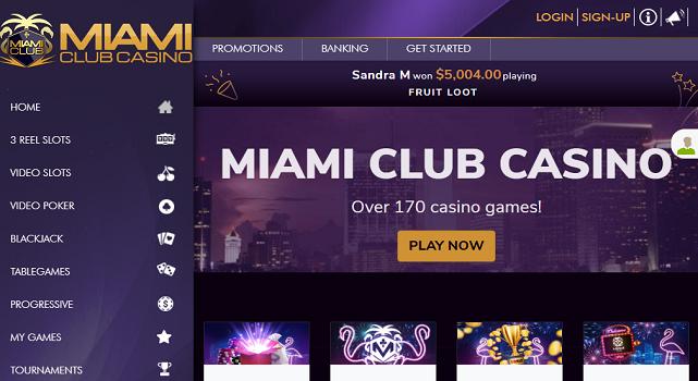 Miami Club Casino - allcasinoscanada