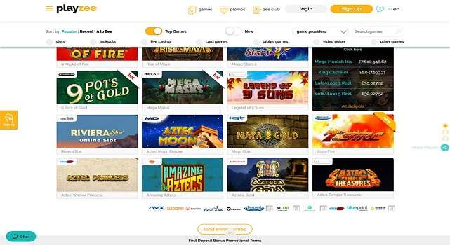 Playzee Casino - allcasinoscanada