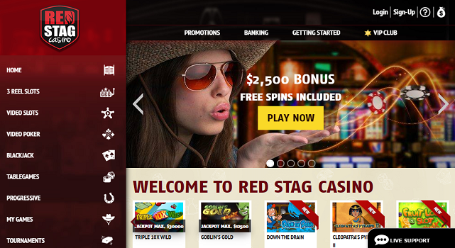 Red Stag Casino - allcasinoscanada