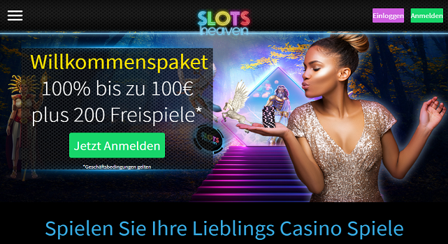 Slots Heaven Casino Site