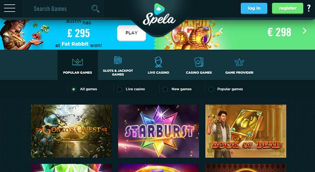 Spela Online Casino