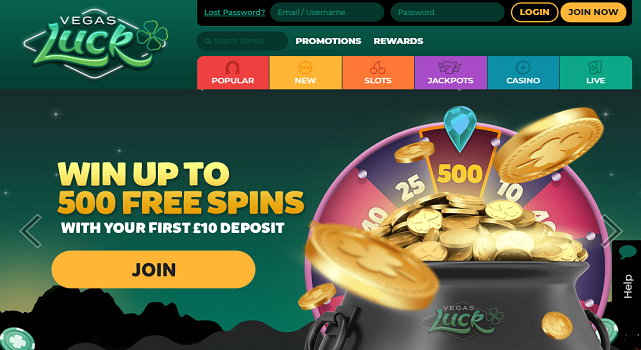 Vegas Luck Casino - allcasinoscanada
